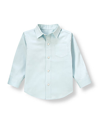 Boys Airy Blue Diamond Dress Shirt at JanieandJack