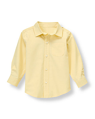 Light Campus Gold Woven Dress Shirt at JanieandJack