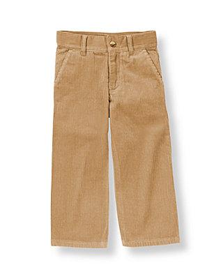 Classic Khaki Khaki Corduroy Pant at JanieandJack