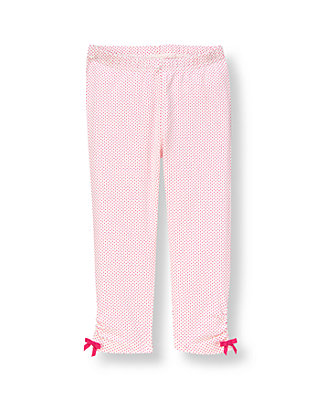 Raspberry Pink Dot Dot Legging at JanieandJack