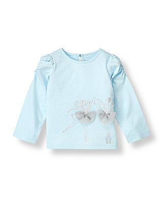 Stardust Blue Dancing Fairy Top at JanieandJack