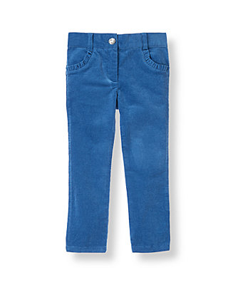 Fanciful Blue Corduroy Pant at JanieandJack