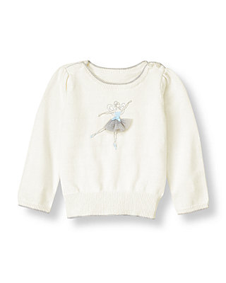 Jet Ivory Dancing Fairy Sweater at JanieandJack
