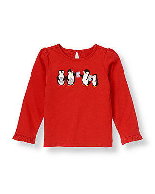 Penguin Red Penguin Wish Top at JanieandJack