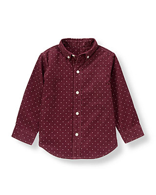 Mulberry Dot Dot Corduroy Shirt at JanieandJack