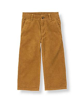 Honey Brown Corduroy Pant at JanieandJack