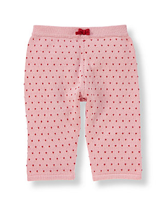Baby Girl Sweetheart Pink Heart Sweater Pant at JanieandJack