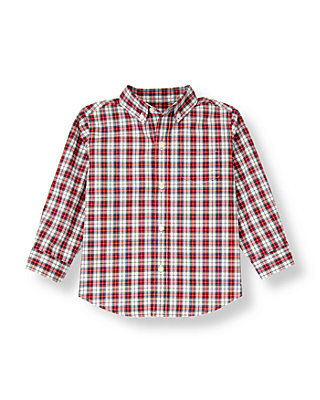 Nutcracker Red Plaid Plaid Shirt at JanieandJack