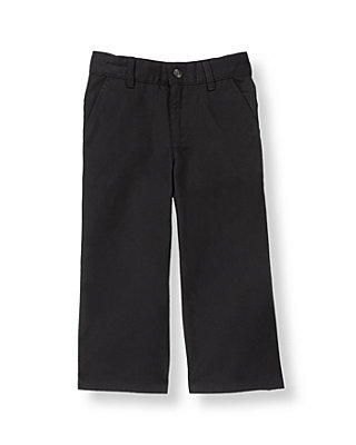 Classic Black Twill Trouser at JanieandJack