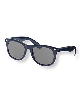 Boys Nautical Navy Classic Sunglasses at JanieandJack