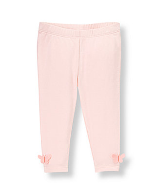 Baby Girl Butterfly Pink Butterfly Hem Pant at JanieandJack