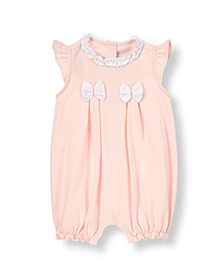 Baby Girl Butterfly Pink Butterfly Ruffle Bubble at JanieandJack