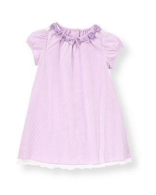 Baby Girl Pastel Violet Bow Dot Tulle Dress at JanieandJack