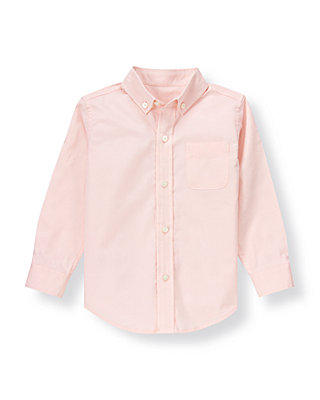 Light Pink Woven Dress Shirt at JanieandJack