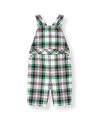 Classic Navy Plaid Madras Plaid Shortall at JanieandJack