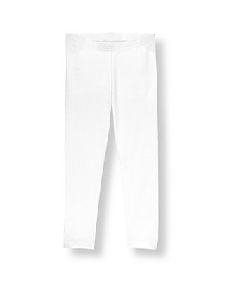 Pure White Legging at JanieandJack