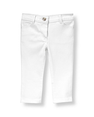 Pure White White Jean at JanieandJack