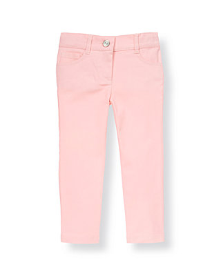 Rosebud Pink Colored Jean at JanieandJack