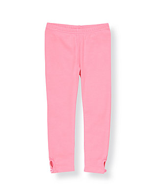 Blossom Pink Button Legging at JanieandJack