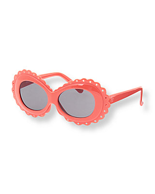 Coral Breeze Scalloped Sunglasses at JanieandJack
