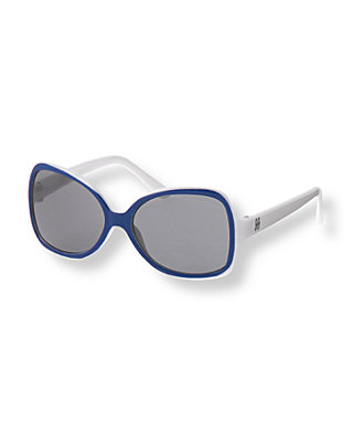 Marine Blue Square Sunglasses at JanieandJack