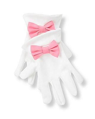 Pure White Bow Glove at JanieandJack