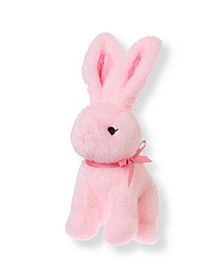 Rosebud Pink Bunny Plush Toy at JanieandJack