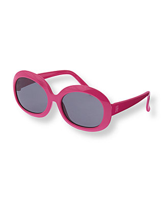 Blossom Pink Oval Sunglasses at JanieandJack