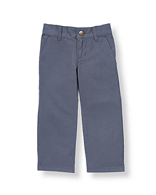 Boys Sunwashed Indigo Colored Skinny Fit Pant at JanieandJack