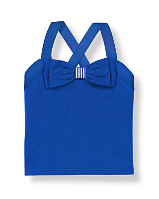 Royal Blue Bow Top at JanieandJack