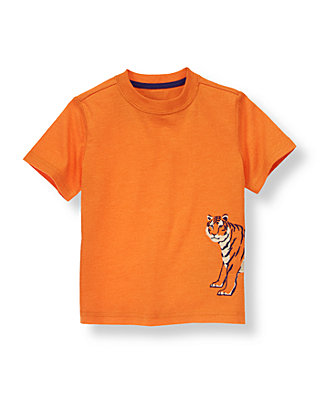 Tiger Orange Tiger Tee at JanieandJack