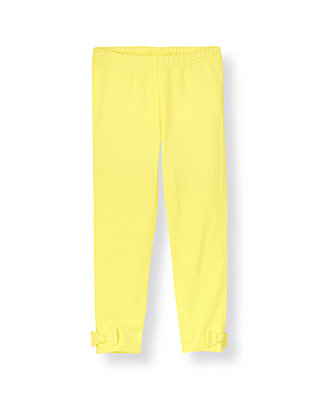 Citron Bow Legging at JanieandJack