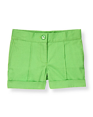 Leaf Green Cuffed Short at JanieandJack