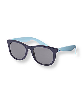 Boys Summer Navy Classic Sunglasses at JanieandJack