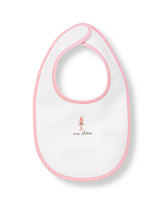 Pure White Cupcake Bib at JanieandJack