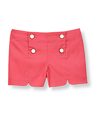 Rosy Pink Scalloped Short at JanieandJack