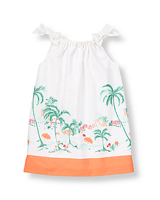 Tropical Palms Scenic Palms Dress at JanieandJack