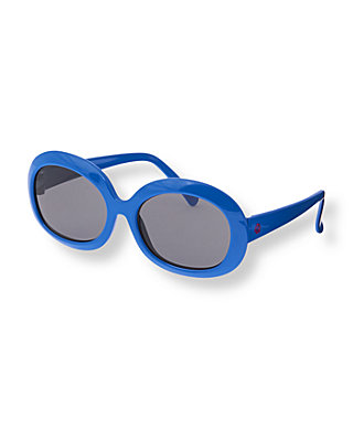 Royal Blue Classic Sunglasses at JanieandJack