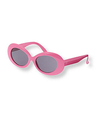 Parrot Pink Oval Sunglasses at JanieandJack