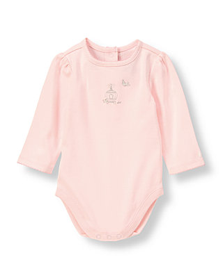 Soft Pink Songbird Bodysuit at JanieandJack