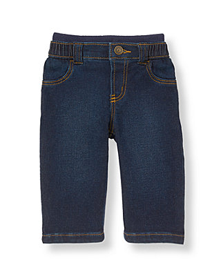 Dark Denim Denim Pant at JanieandJack