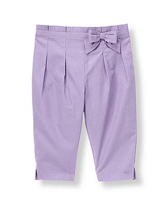 Lavender Bow Pleated Pant at JanieandJack