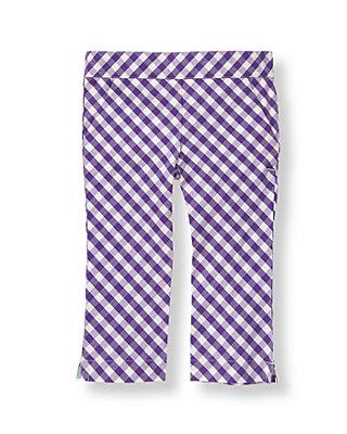 Royal Purple Check Gingham Pant at JanieandJack