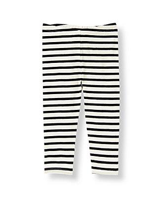 Black Stripe Striped Legging at JanieandJack
