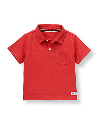 Champion Red Pocket Polo at JanieandJack