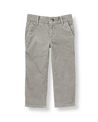 Slate Grey Corduroy Pant at JanieandJack