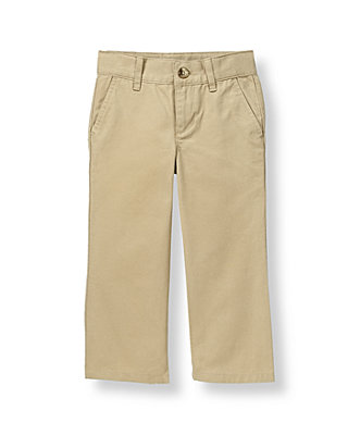 Khaki Dress Pant at JanieandJack