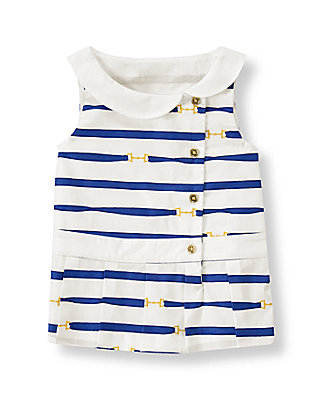 Violet Blue Stripe Striped Top at JanieandJack