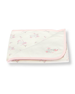 Ivory Songbird Crib Blanket at JanieandJack