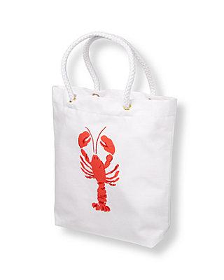 Classic White Lobster Tote at JanieandJack